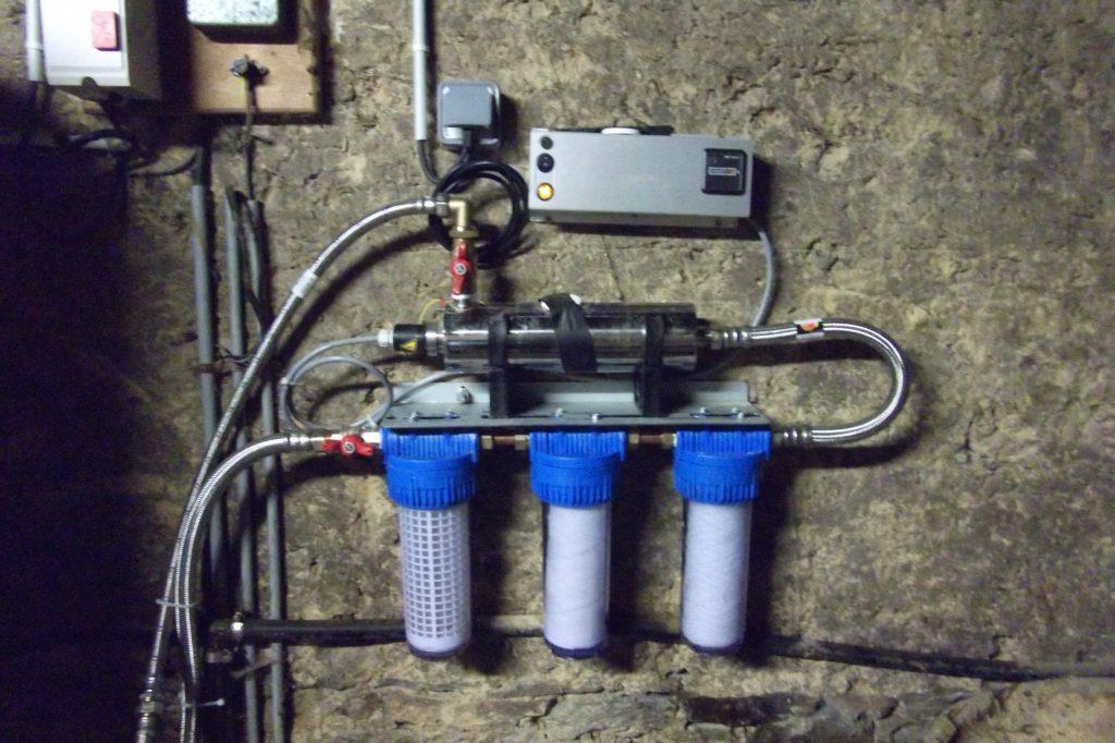 ensemble de potabilisation d'eau de puits earl pattier