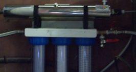 ensemble de potabilisation d'eau de puits gaec coulee