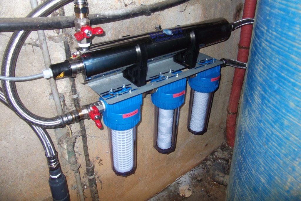 ensemble de potabilisation d'eau de puits duterte coesmes