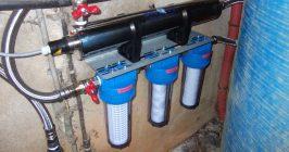 Ensemble potabilisation d'eau de puits dutertre coesmes