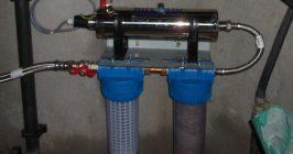 ensemble de potabilisation d'eau de puits earl gallais