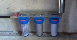 ensemble de potabiolisation d'eau de puits berthou